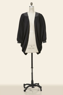 Zelia Knit Back Cape